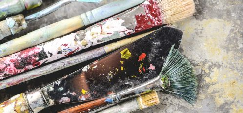 Paint Brushes | Stormy Weather arts festival