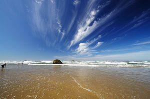 Hug Point Recreation Area on the Oregon Coast