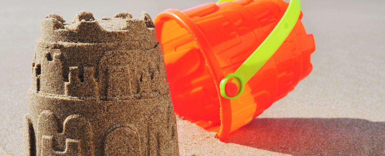 Sandcastle Contest in Cannon Beach