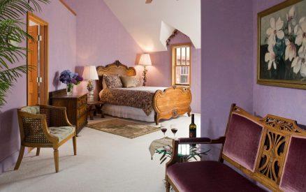 Spacious Heather Room at Arch Cape Inn