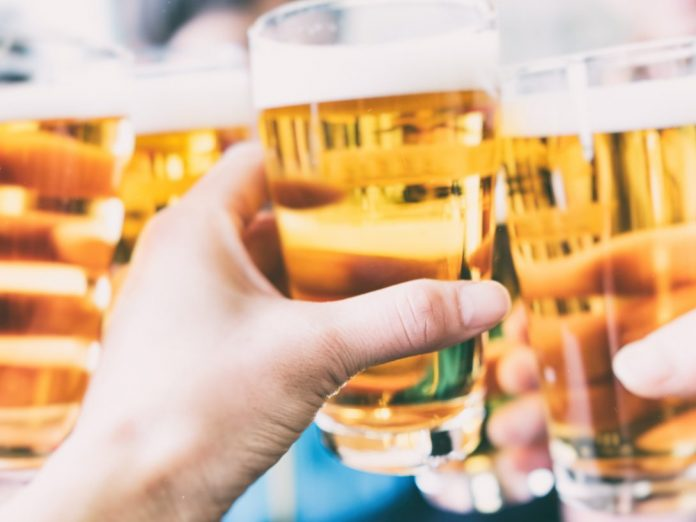 Make a toast with a beer at Cannon beach breweries